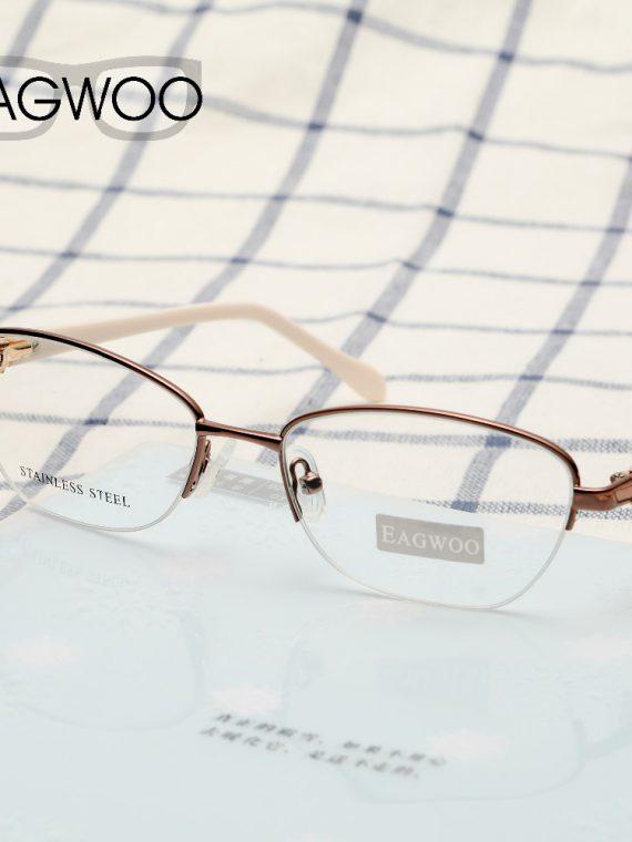 กรอบแว่นตาครึ่งกรอบ แว่นครึ่งกรอบ แฟชั่น กรอบแว่นตา ขาสปริง กรอบแว่นสายตาผู้หญิง กรอบแว่นวินเทจ ผู้หญิง กรอบแว่นตา cat eye แว่นแคทอาย วินเทจ แว่นทรงcat eye