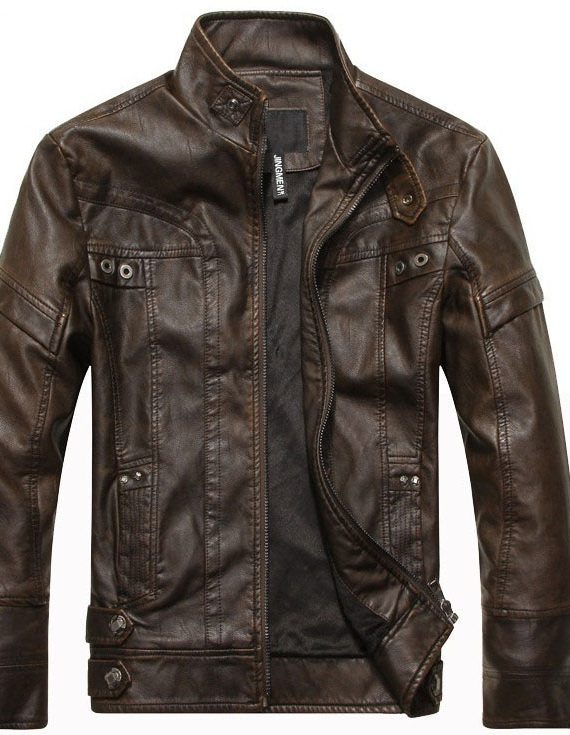 เสื้อแจ็คเก็ต หนัง ผู้ชาย ไซส์ใหญ่