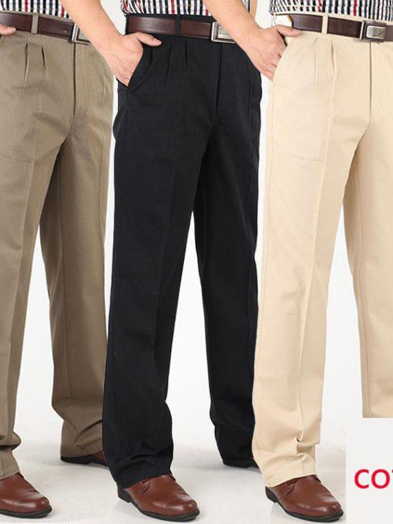 กางเกงสแล็ค ผู้ชาย ไซส์ใหญ่ เอว 42 44 46