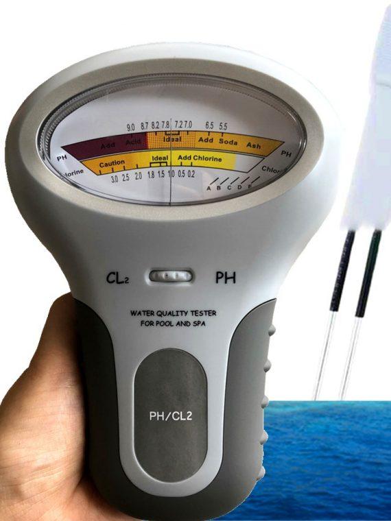 เครื่องวัดค่า คลอรีน และ ph 2in1