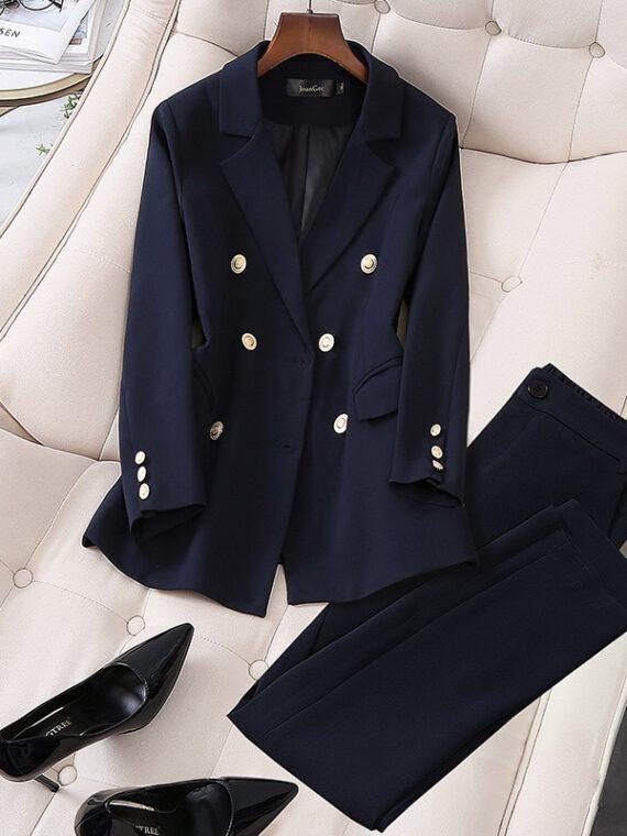ชุดสูทกางเกงผู้หญิง ws45
