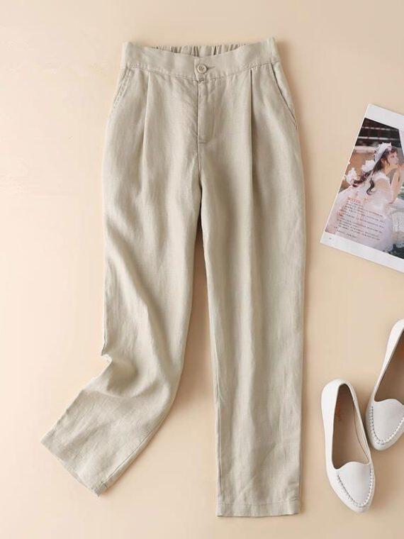 กางเกงผ้าฝ้าย ผู้หญิง wp61