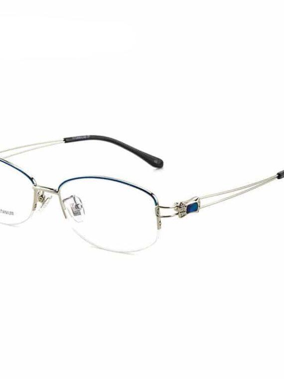 กรอบแว่นตาครึ่งกรอบบน ไทเทเนียม RS9045