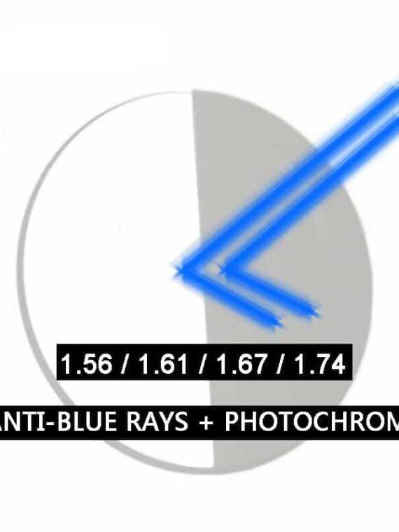 เลนส์กันแสงสีฟ้า เปลี่ยนสีออโต้ ASL85