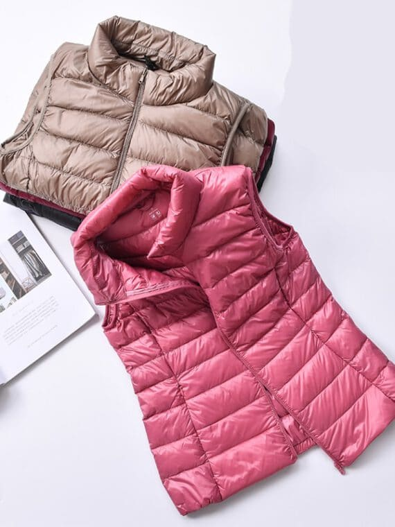 เสื้อขนเป็ด แขนกุด เสื้อกั๊ก กันหนาว